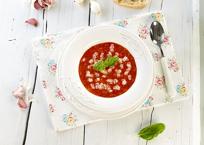 STARS WITH TOMATO SOUP - gluten free pasta recipe